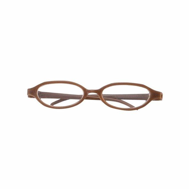 Leesbril (voor pop met haar)