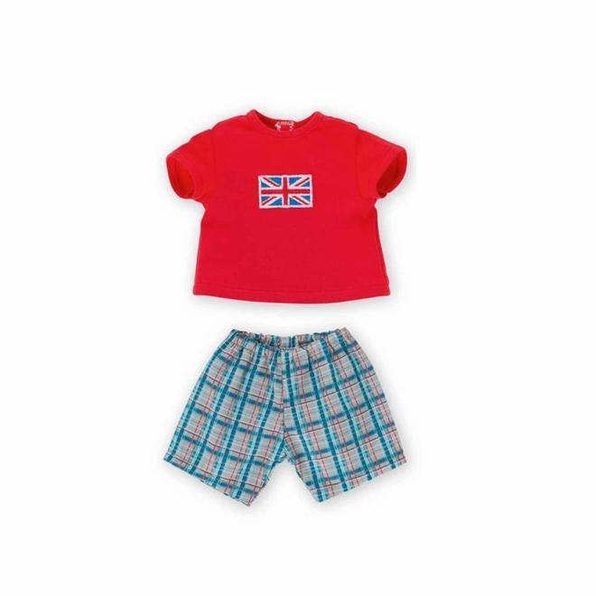 Pyjama UK (voor pop met haar)
