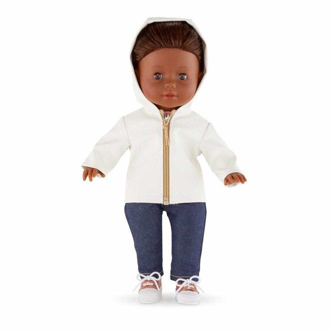 Ma Corolle Broek jeans (voor pop met haar)