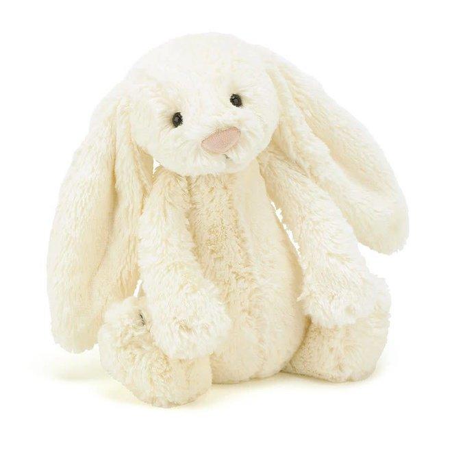 Knuffel wit konijn groot