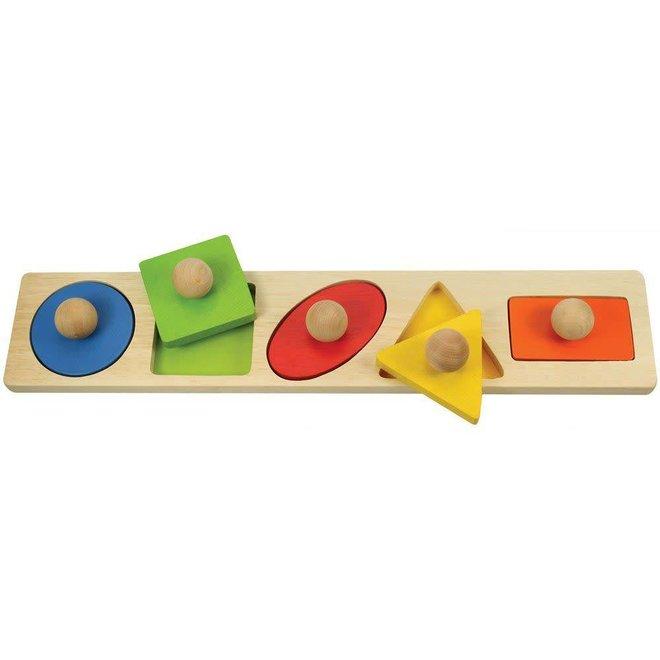 Basis vormen puzzel
