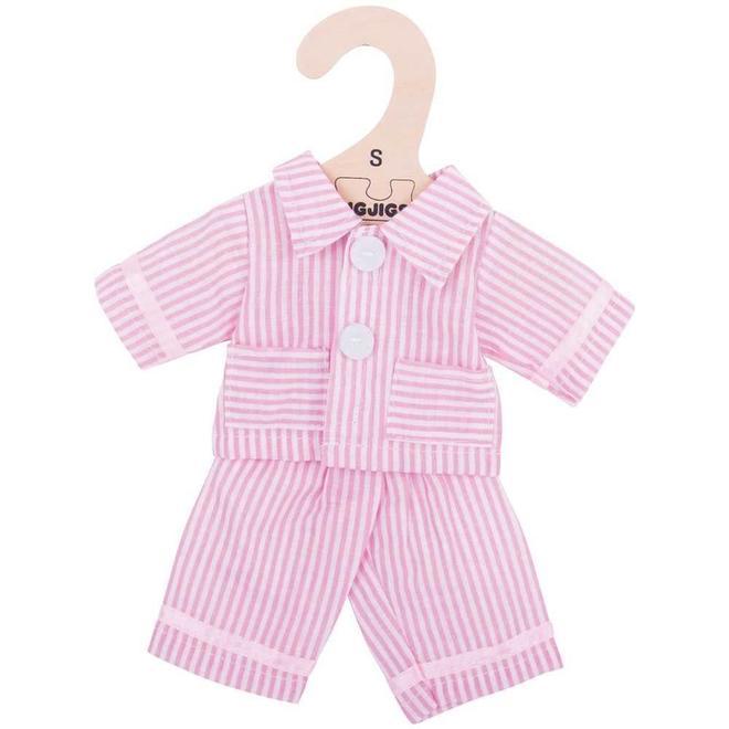 Poppenkleding pyjama (voor pop 34cm) (M)