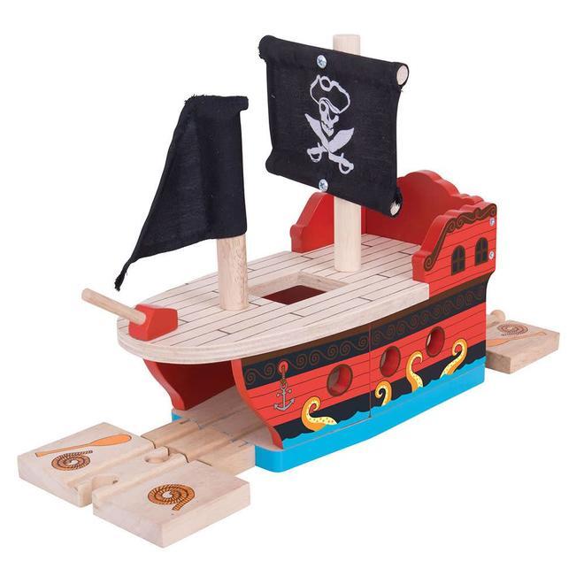 Piratenschip tunnel