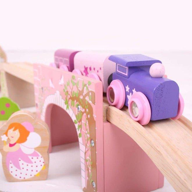 Pink Arched Bridge