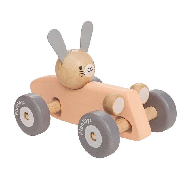 Race auto konijn