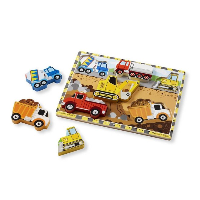 Chunky puzzel bouwplaats