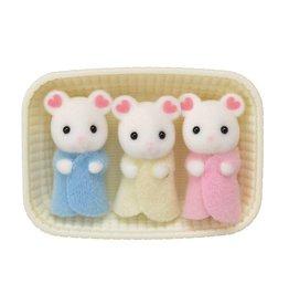 Sylvanian Families Sylvanian Families - Baby Drieling Marshmallow Muis - 5337
