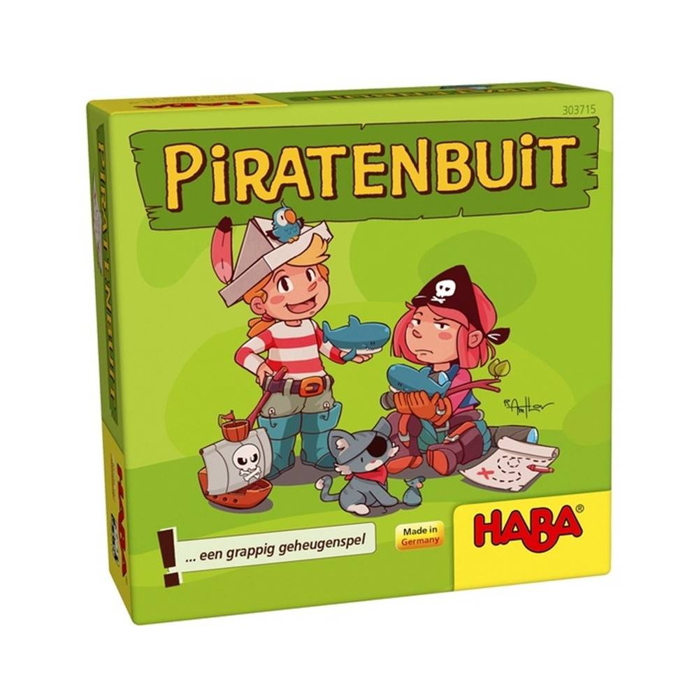 HABA Piratenbuit - Geheugenspel 5+