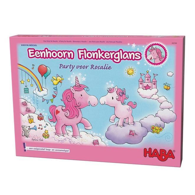 Eenhoorn Flonkerglans - Party voor Rosalie 3+