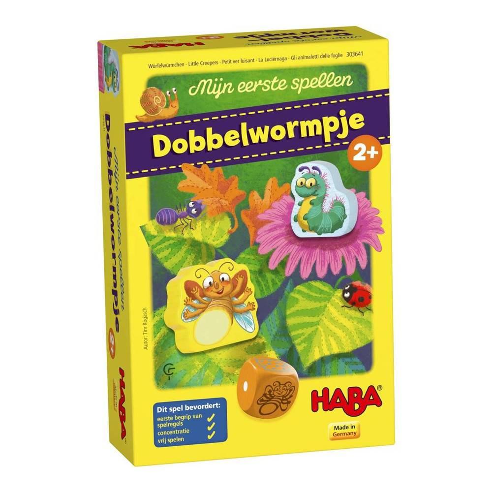 HABA Mijn eerste spellen - Dobbelwormpje 2+