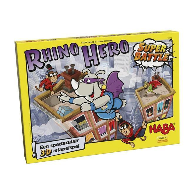 Rhino Hero Super Battle - 3D Stapelspel 5+