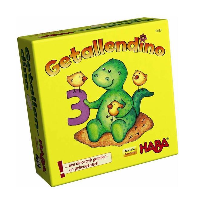 Getallendino - Geheugenspel 3+
