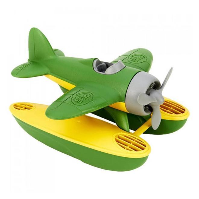 Watervliegtuig groen