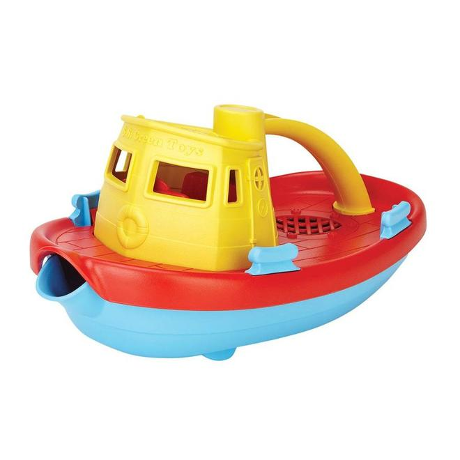 Green Toys Boot geel