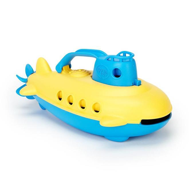 Green Toys Duikboot (blauw handvat)