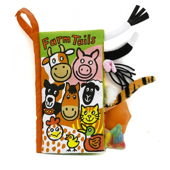 Jellycat Tails Farm Book