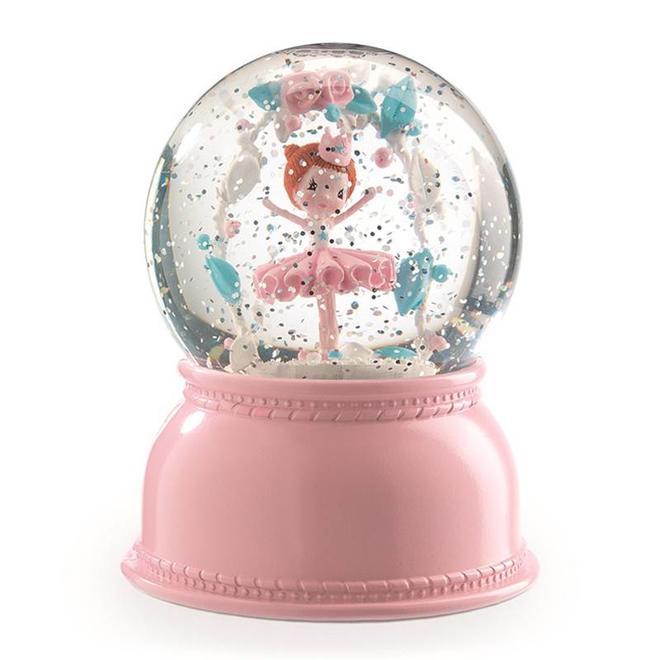 Nachtlamp sneeuwbol ballerina