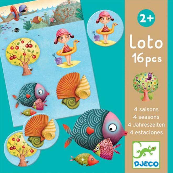 Djeco Lotto 4 Seizoenen