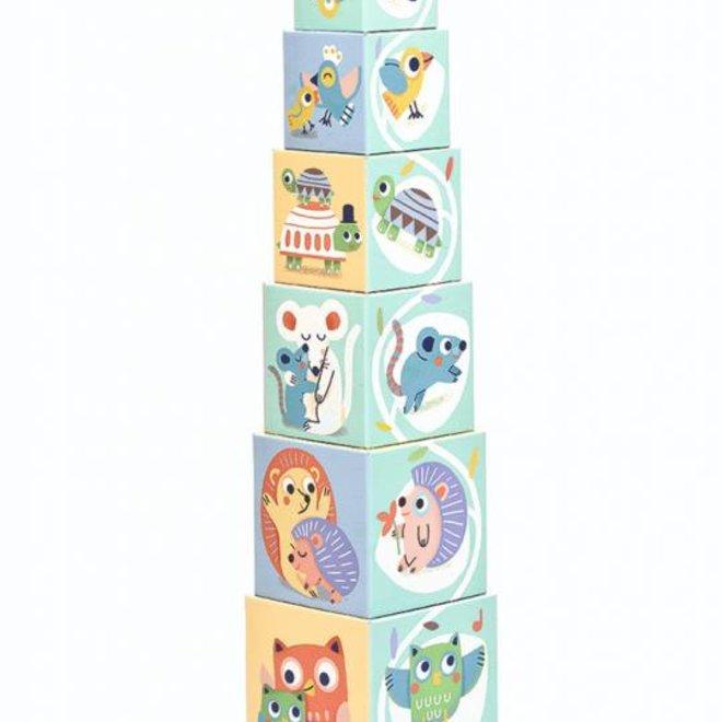 Stapelblokken BabyBloki 1+