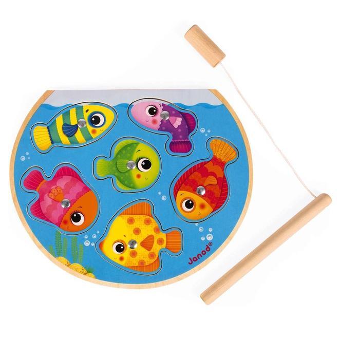 Vissen puzzel spel
