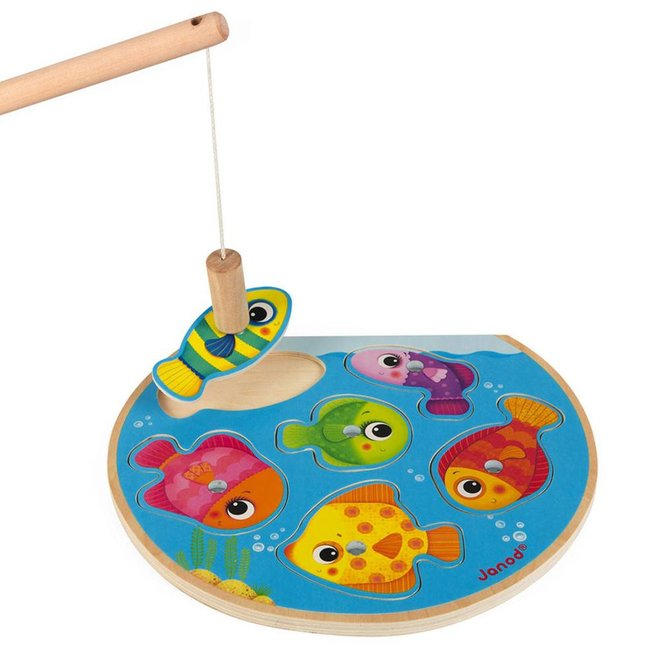 Janod Fishing Puzzle Game