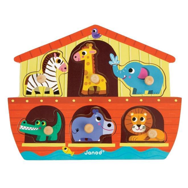 Knoppuzzel De Ark van Noach 18m+
