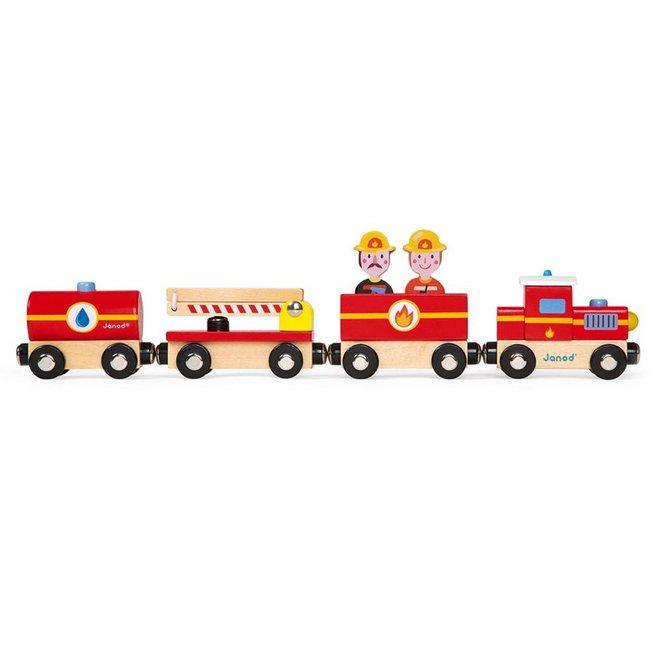 Janod Story trein brandweer