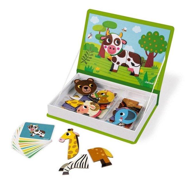 Janod Magnetibook Animals (3-8 jaar)
