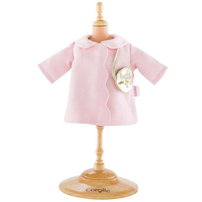 Winterjas met tasje (voor babypop 30cm)