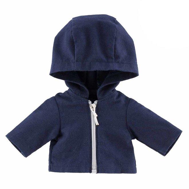 Vest met capuchon (voor pop met haar)