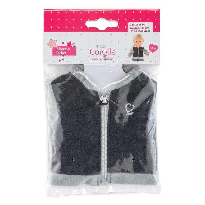 Ma Corolle Vest zwart/zilver (voor pop met haar)