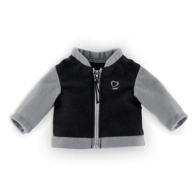 Vest zwart/zilver (voor pop met haar)