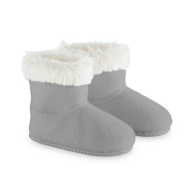 Laarzen grijs (voor pop met haar)