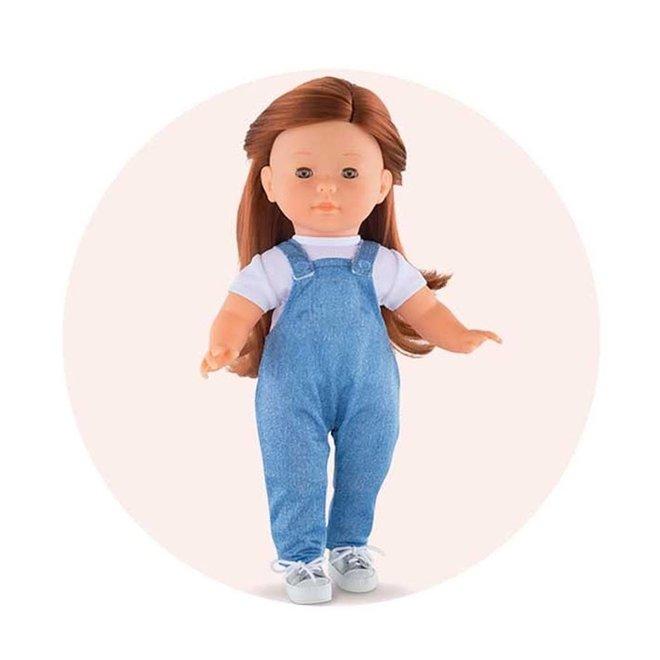 Ma Corolle Jumpsuit denim (voor pop met haar)