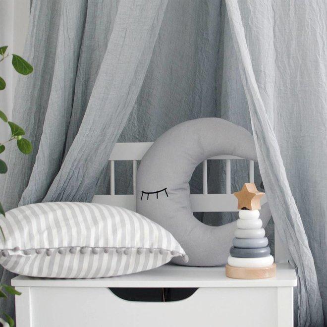 Stapeltoren grijs/wit