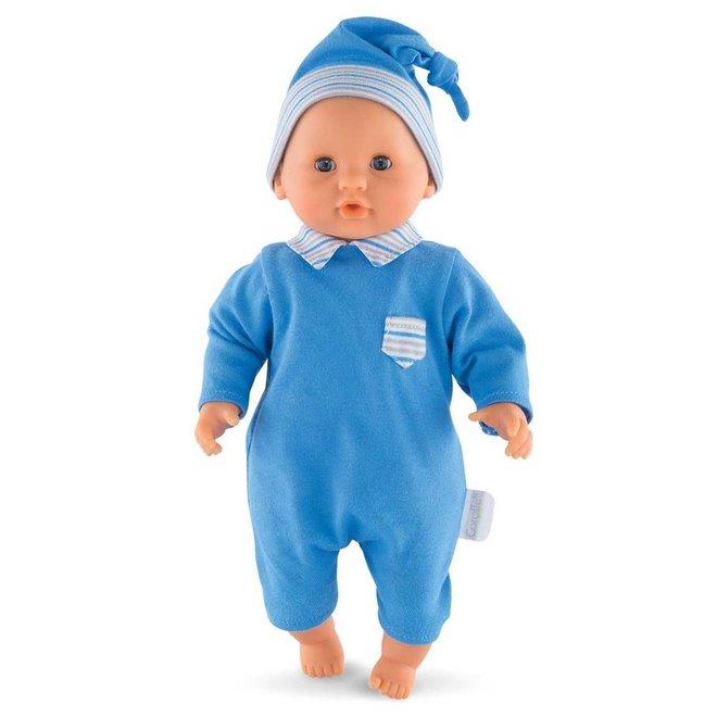 Babypop jongen blauw (30cm)
