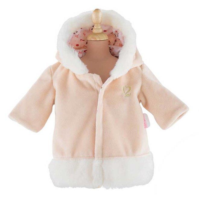 Winterjas rendier (voor babypop 36cm)