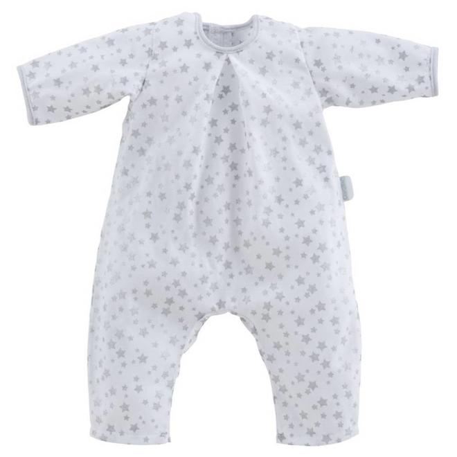 Poppenkleding Pyjama sterren (voor Mon Grand 52cm)