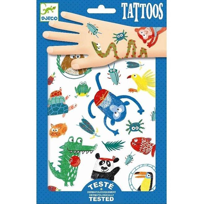 Tattoos snoeten