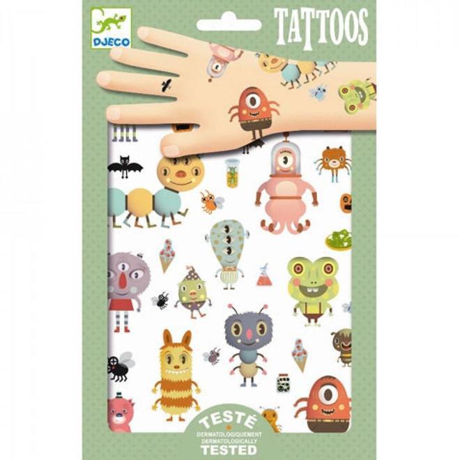 Djeco Tattoos Monsters