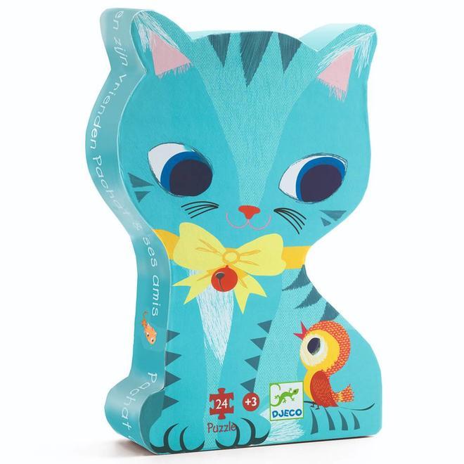 Puzzel - Kat en zijn vriendjes (24st) 3+