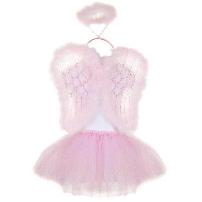 Vleugels, tutu & halo engeltje