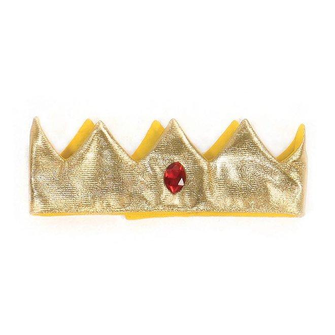 Verkleedset koning & ridder rood/zilver (M)