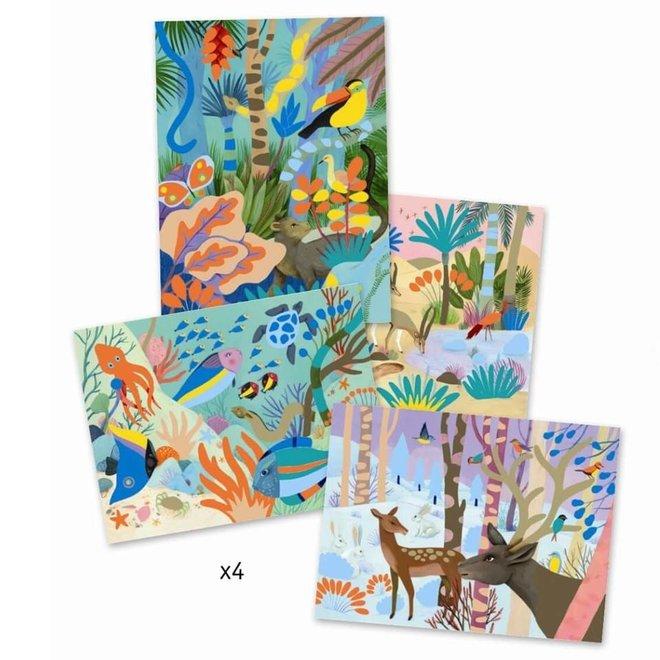 Schilderen - Natuur (7-11 jaar)