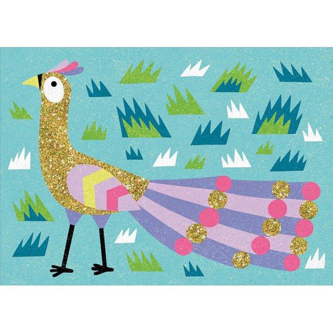 Djeco Zand en glitter - Vogels