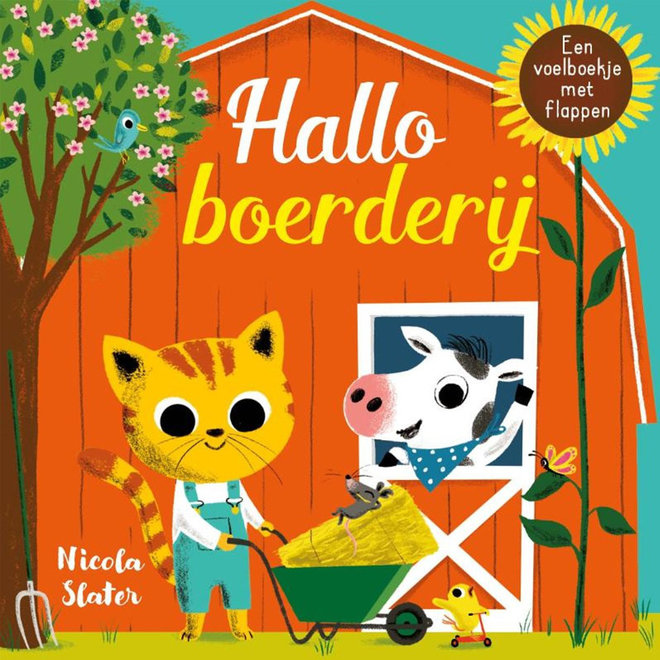 Hallo boerderij - Flapjesboek