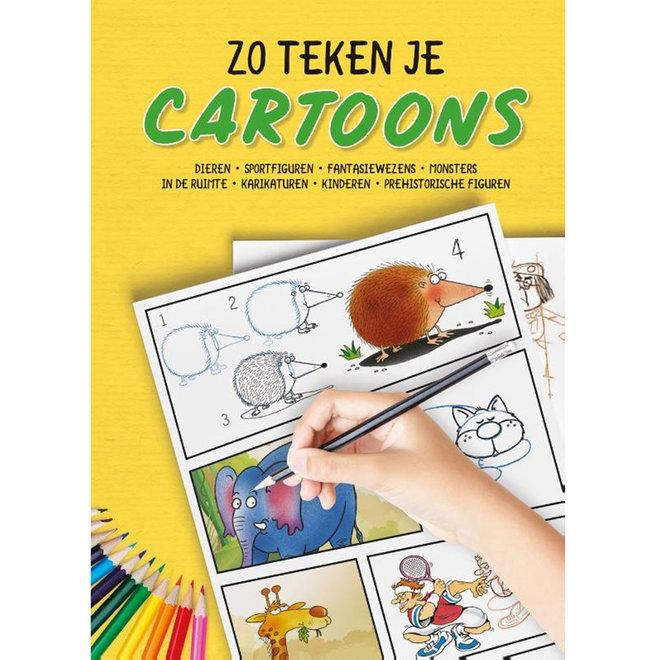 Zo teken je cartoons