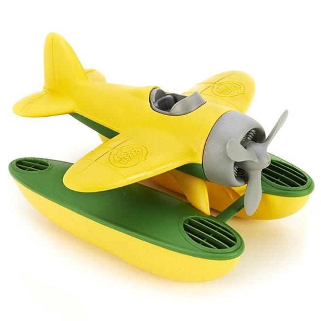 Watervliegtuig geel