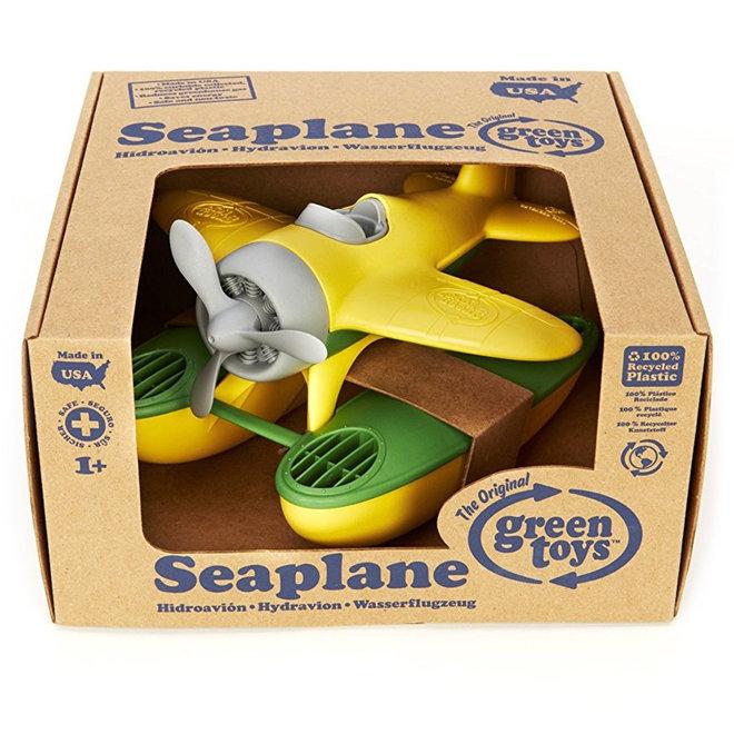 Green Toys Watervliegtuig geel