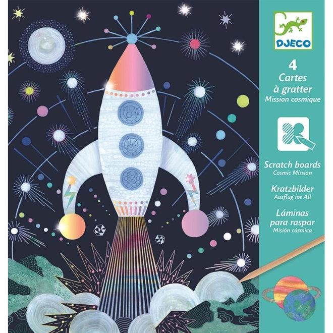 Kraskaarten - Ruimtevaart 6+